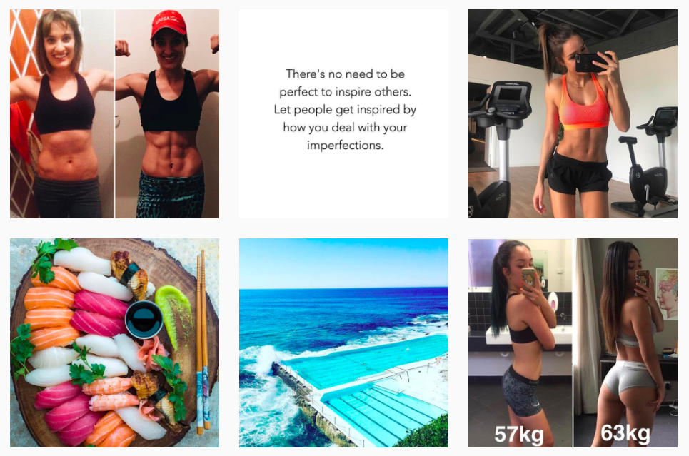 Kayla Itsines instagram