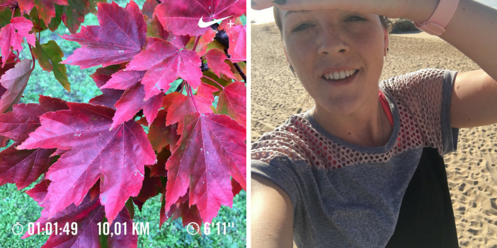 Ten Miles training update 2 - Evi Driesen