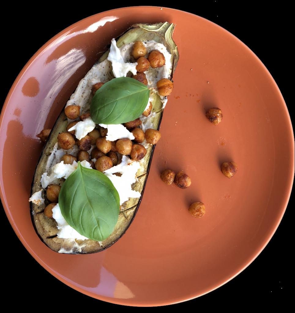 Recept: auberginebootjes