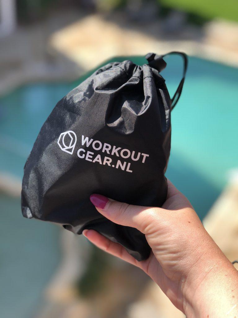 Sporten op vakantie met de mini loops van Workout Gear - Evi Driesen